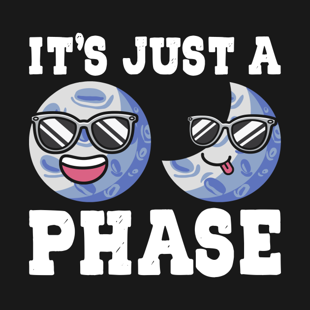 It's Just A Phase Moon Star Astronomy Space