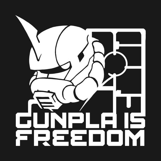 Gunpla is Freedom Zaku