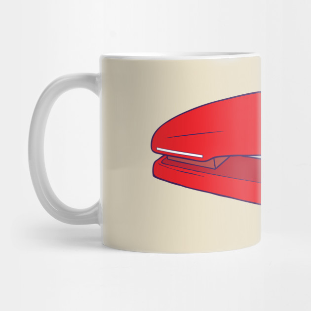 Red Stapler Office Space Mug Teepublic