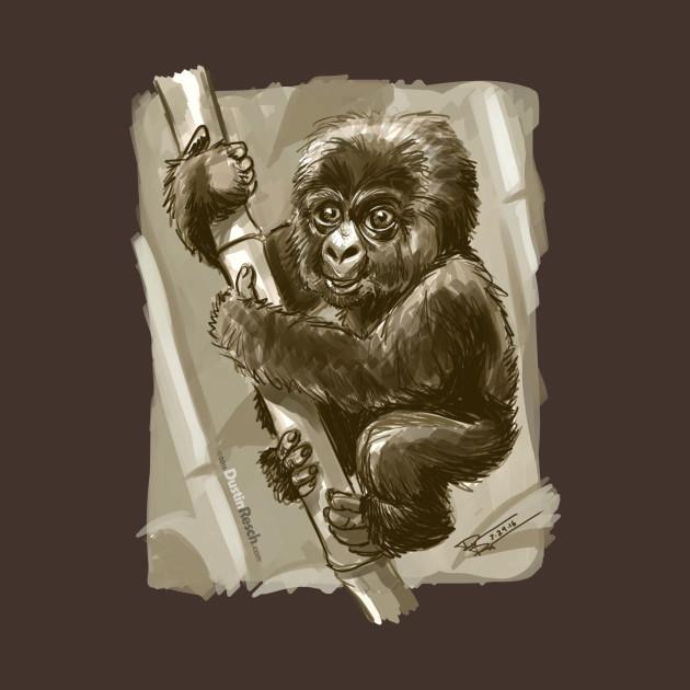 Monkey Puppy Baby (Baby Gorilla)