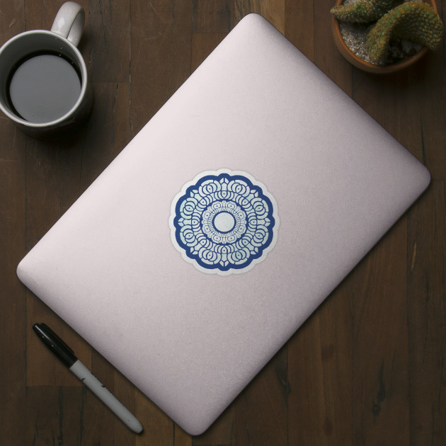 White Lotus Symbol Avatar The Last Airbender Sticker Teepublic