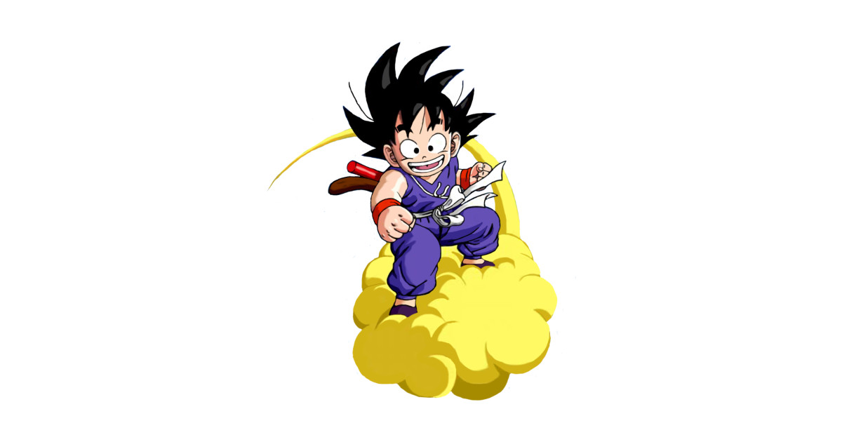 Son Goku Kinto Un Goku Pillow Teepublic