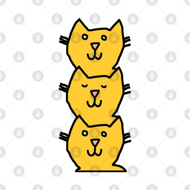 Yellow Cat Stack