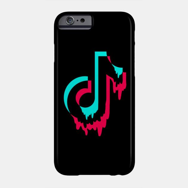 Tik Tok Logo Drip Design Phone Case