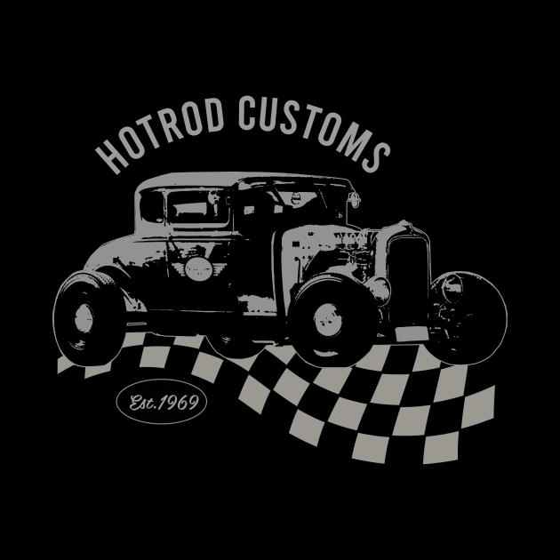 Hotrod Customs Car