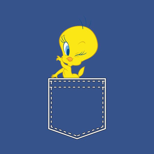 Tweety In My Pocket Tweety Bird T Shirt Teepublic