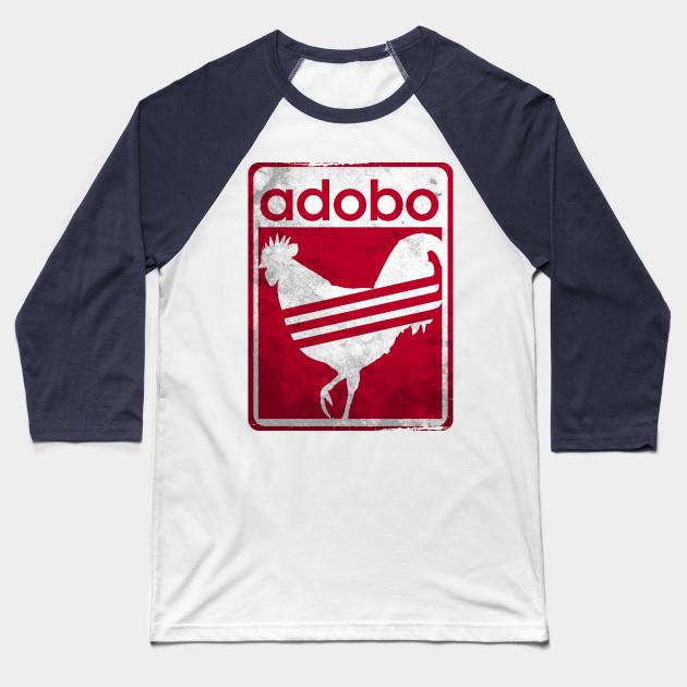 dcaa7533d Pinoy Shirt Distressed Chicken Adobo Filipino Shirt Baseball T-Shirt