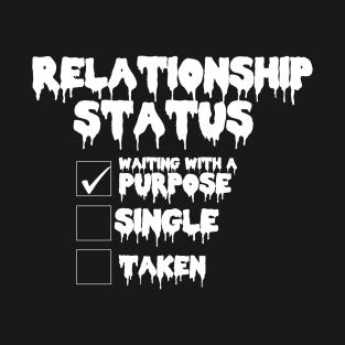 Relationship status T_shirt t-shirts