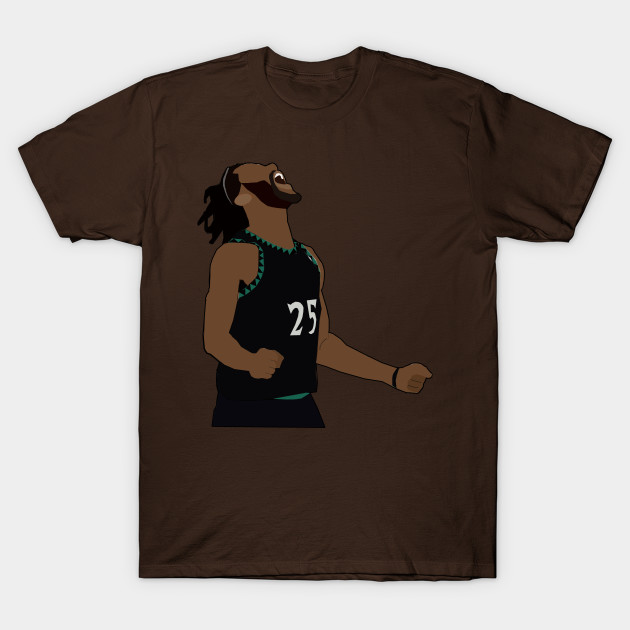 07acd8c03c5 Derrick Rose 50 Point Celebration - Minnesota TimberWolves - Nba - T ...