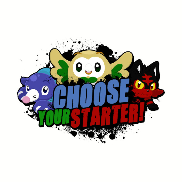 Choose your Alola starter!
