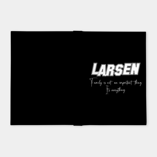 Larsen Second Name, Larsen Family Name, Larsen Middle Name