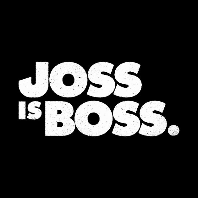 JOSS is BOSS