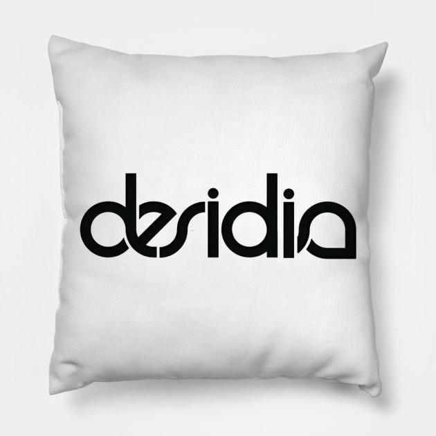efdcb4aa2ea9b Desidia Logo Tee - Plain - Pillow