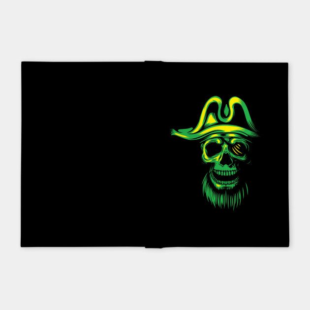 Green Skull Pirate