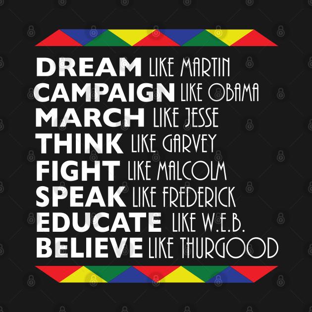 Dream Like Martin Black History Month