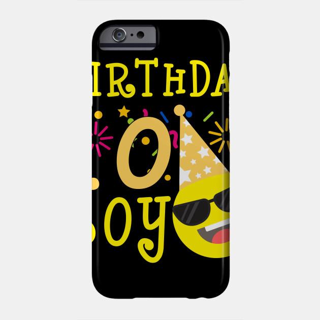Kids Emoji 10th Birthday Boy T Shirt Fun 10 Years Old Gift Phone Case