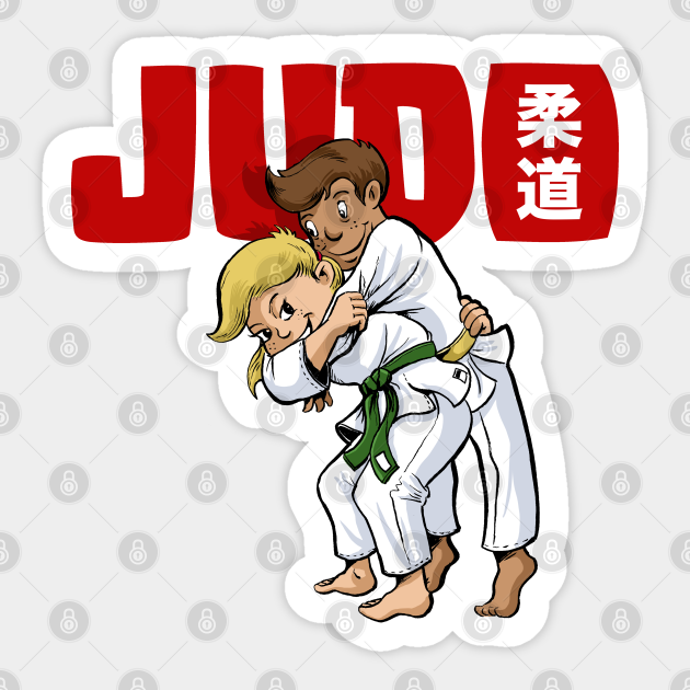 Judo Kids - Judo - Sticker | TeePublic