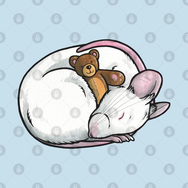 White pet mouse