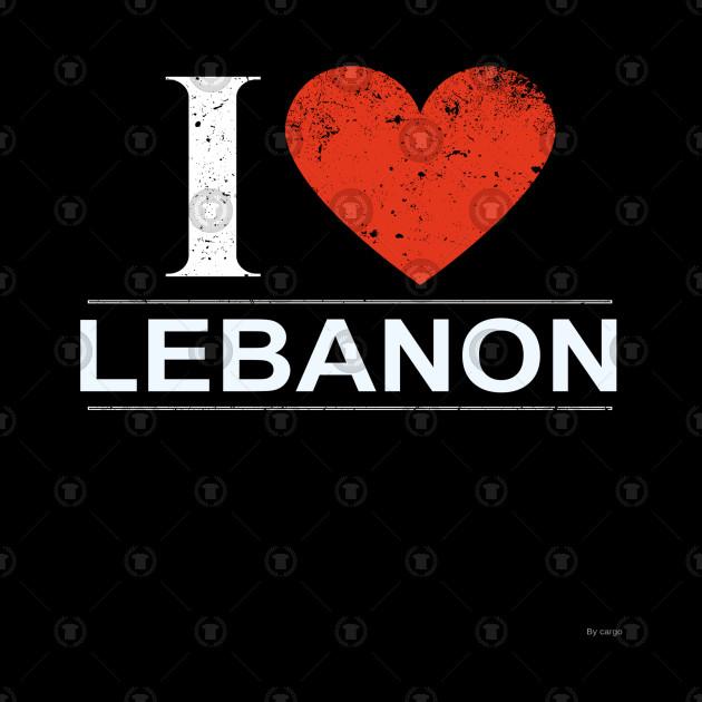 I Love Lebanon - Gift for Lebanese