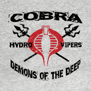 Cobra Command - Hydro-Vipers t-shirts