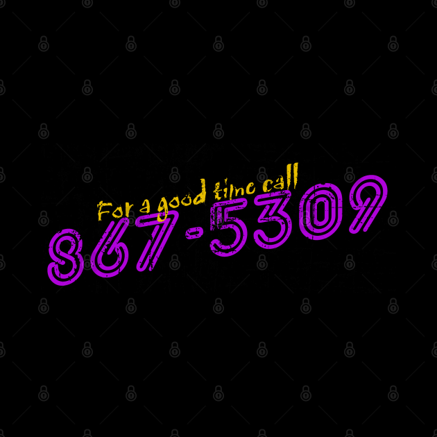 867-5309 Jenny, distressed