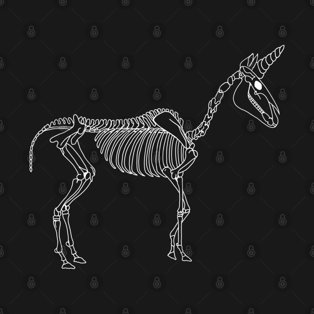 Spooky Unicorn (White)