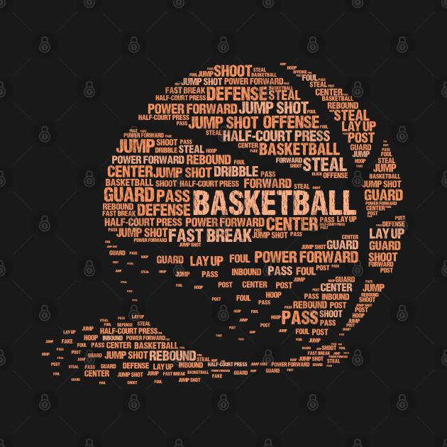 Basketball Lover - Cool Basketball Text Gift For Basketball Player