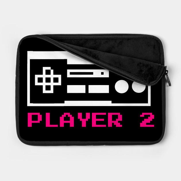 8 BIT PLAYER 2 COUPLE SHIRT