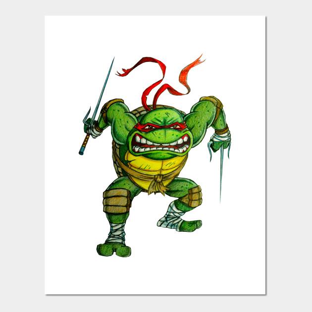 Tmnt Raphael Tmnt Turtles Posters And Art Prints Teepublic