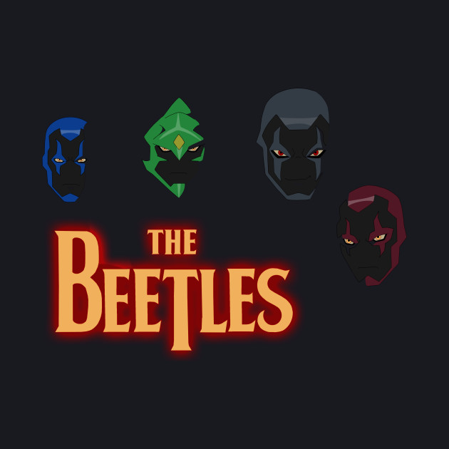 YOUNG JUSTICE beetles