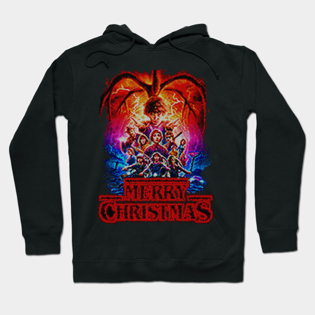 Stranger Things Ugly Christmas Sweater.Stranger Things Ugly Christmas Sweater