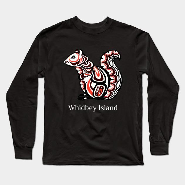 Whidbey Island,Washington Native American Tribal Squirrel Haida Style Gift