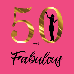 50th Birthday Gifts For Women T Shirts