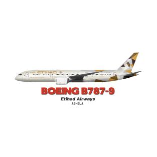 e8c41564dac390 Boeing B787-9 - Etihad Airways T-Shirt