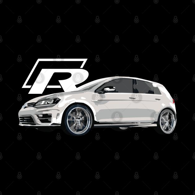 GOLF R in White