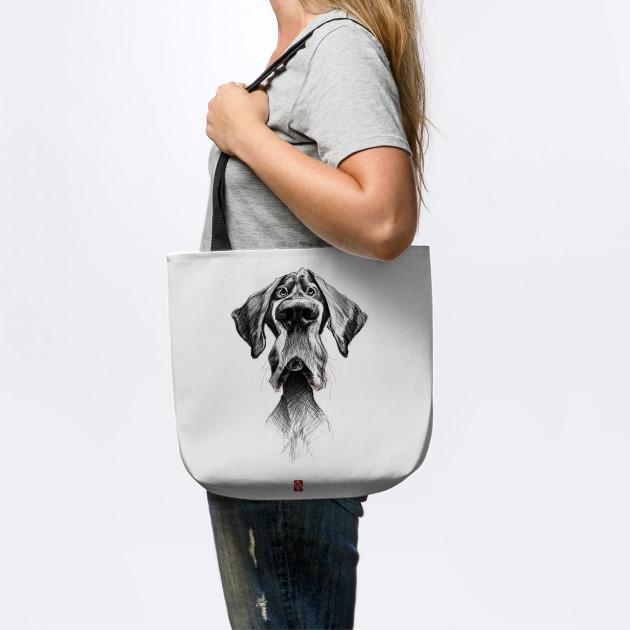 Sketchy Black Dog