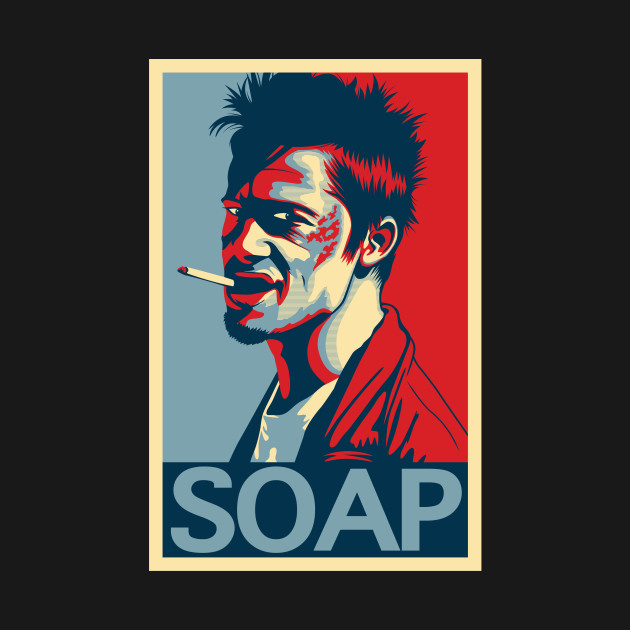 """Tyler Durden """"Hope"""" Poster"""
