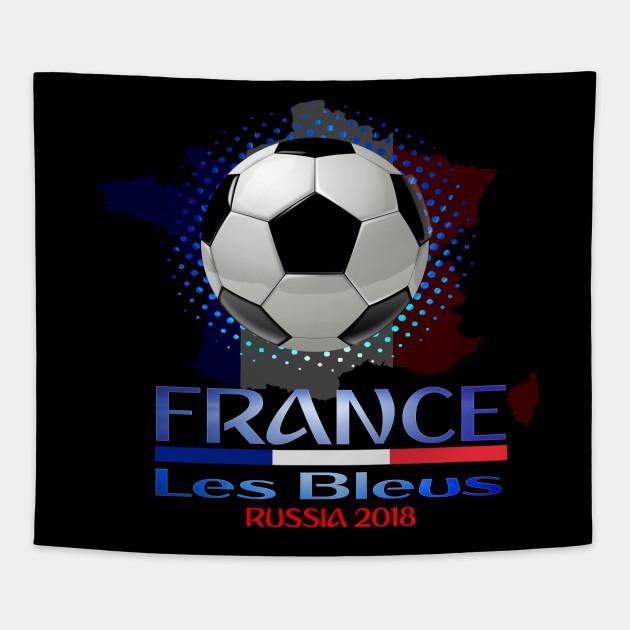 9e323ba27 France World National Football Cup Russia 2018 France Soccer Team Allez Les  Bleus Tapestry