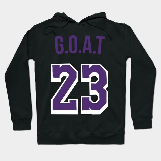 innovative design b3927 edafe Lebron James 'GOAT' Nickname Jersey - Los Angeles Lakers