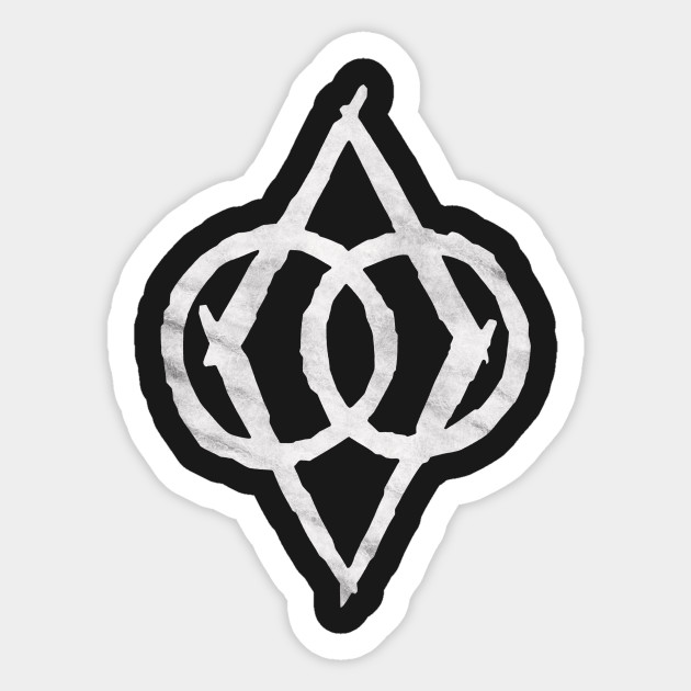 Thieves Guild Protected Shadowmark Stylized Skyrim Sticker