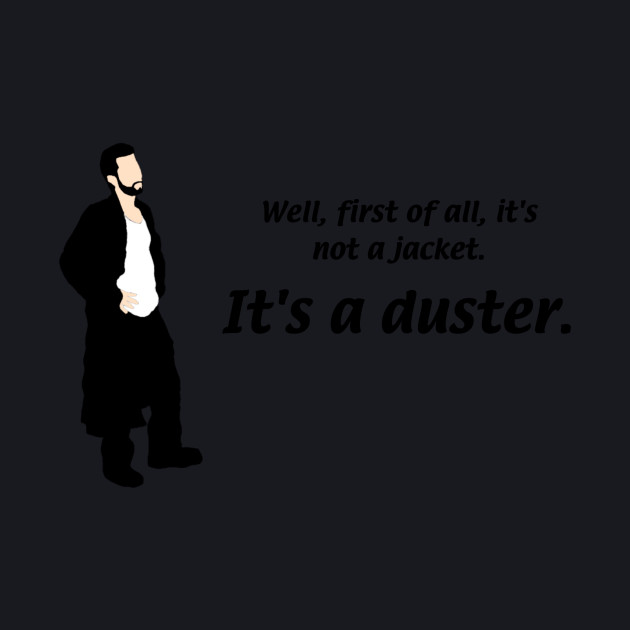 Mac's duster silhouette