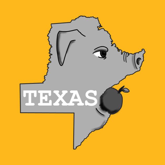 A funny map of Texas  Texas  TShirt  TeePublic