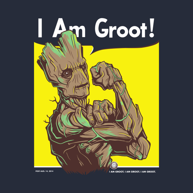 I Am Groot I am Groot! - Rosie Th...