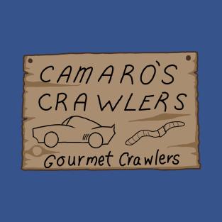 Camaro's Crawlers t-shirts