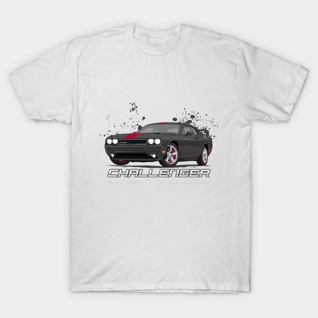 Dodge Challenger T-Shirt V1 White