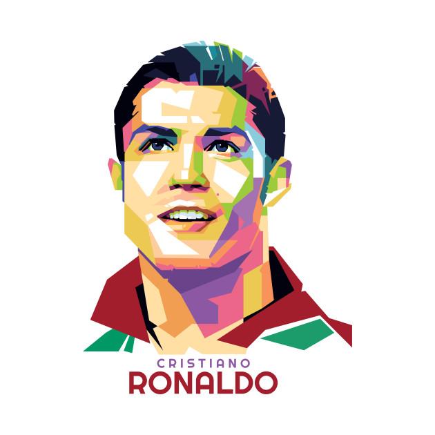 Geometric Celebrity Cristiano Ronaldo