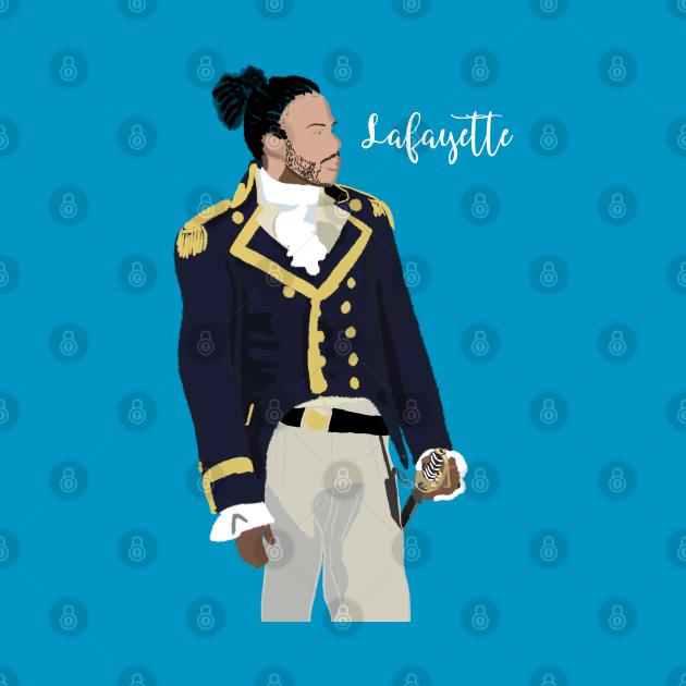 Hamilton Lafayette Daveed Diggs T-Shirt 2
