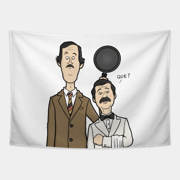 Fawlty Towers - Basil and Manuel