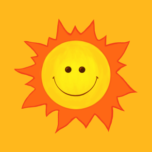 Cute Happy Smiling Sun t-shirts