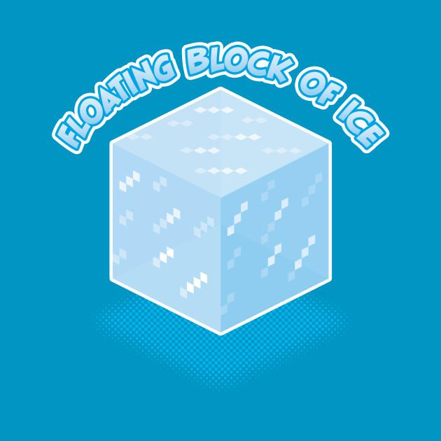 Floating Block of Ice
